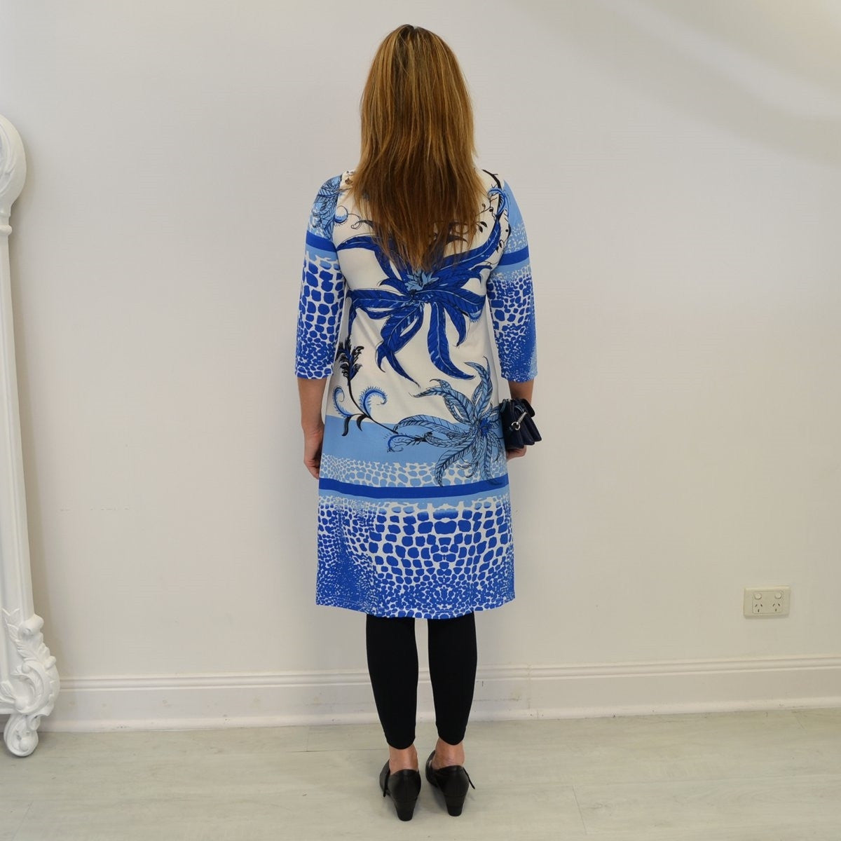 Blue Garden Tunic | I Love Tunics | Tunic Tops | Tunic | Tunic Dresses  | womens clothing online