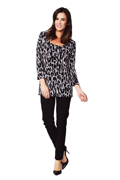 Animal Print Reversible Tunic
