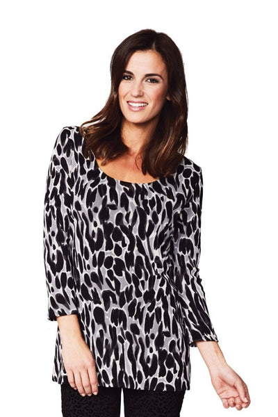 Animal Print Reversible Tunic - at I Love Tunics @ www.ilovetunics.com = Number One! Tunics Destination