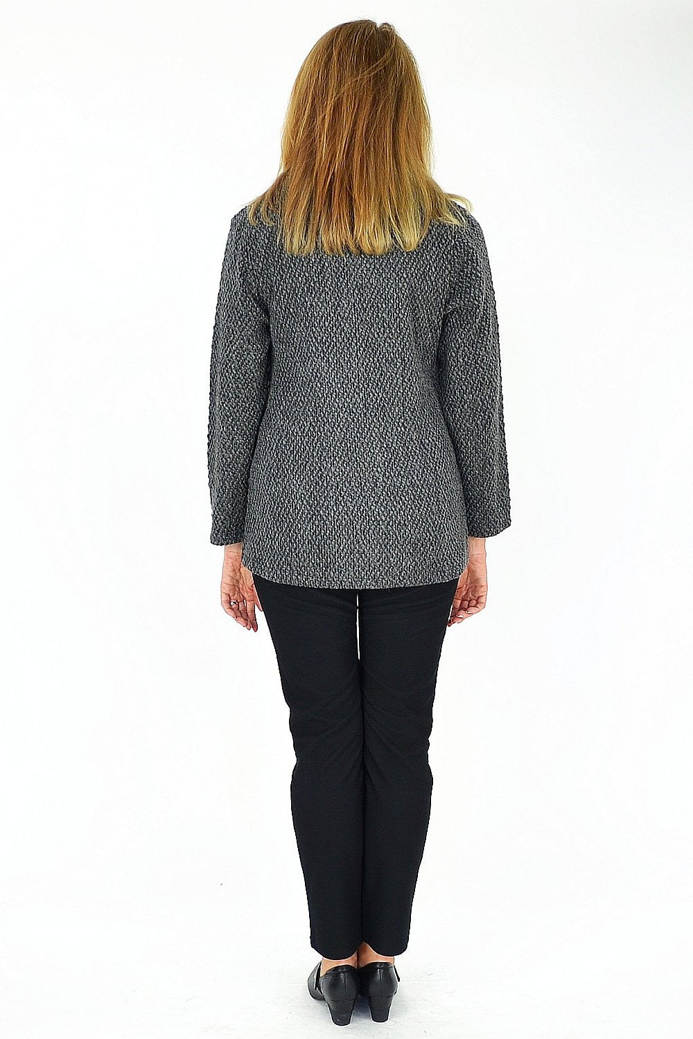 Grey Ava Jacket - at I Love Tunics @ www.ilovetunics.com = Number One! Tunics Destination
