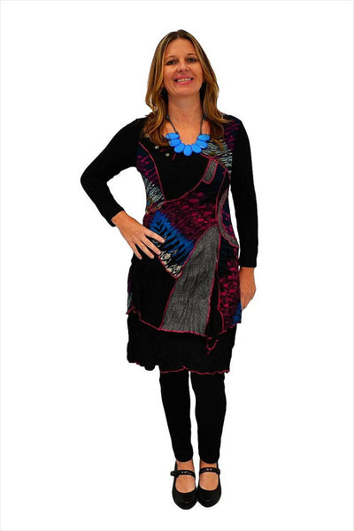 Purple Patch Tunic