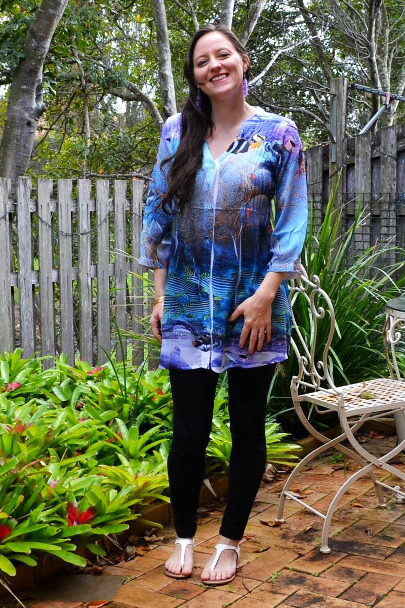 Under the Sea Tunic - at I Love Tunics @ www.ilovetunics.com = Number One! Tunics Destination