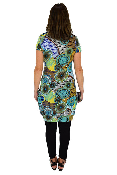 Cowl Neck Circle Tunic | I Love Tunics | Tunic Tops | Tunic Dresses | Women's Tops | Plus Size Australia | Mature Fashion