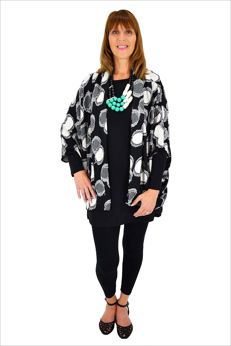 Spotty Jacket - at I Love Tunics @ www.ilovetunics.com = Number One! Tunics Destination