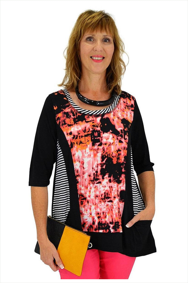 Splash Tunic - at I Love Tunics @ www.ilovetunics.com = Number One! Tunics Destination