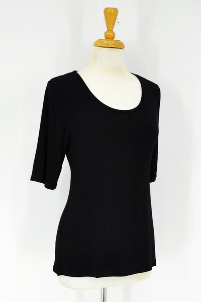 Black Short Sleeve Basic | I Love Tunics | Tunic Tops | Tunic | Tunic Dresses  | womens clothing online