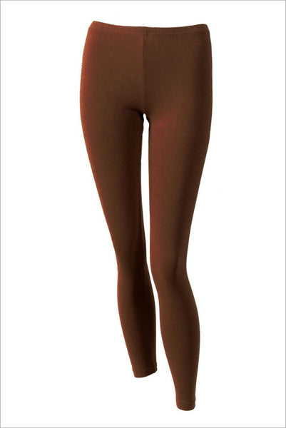 Chocolate brown leggings - at I Love Tunics @ www.ilovetunics.com = Number One! Tunics Destination