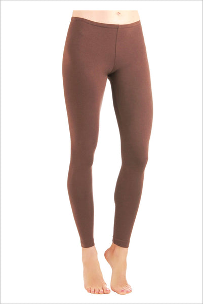 Chocolate brown leggings