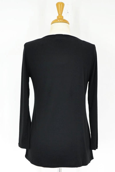 Black Full Sleeve Basic - at I Love Tunics @ www.ilovetunics.com = Number One! Tunics Destination