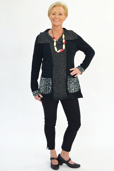 Wild Side Jacket - at I Love Tunics @ www.ilovetunics.com = Number One! Tunics Destination
