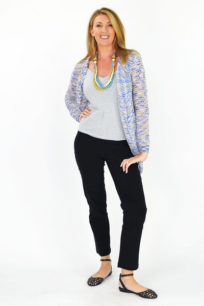 Blue & White Willow Cardigan