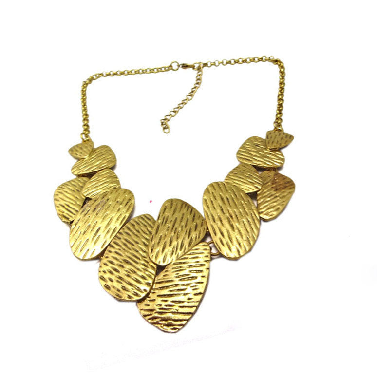 Golden charms necklace - at I Love Tunics @ www.ilovetunics.com = Number One! Tunics Destination