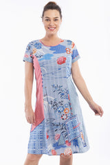 Himeji Print Tunic Dress | I Love Tunics | Tunic Tops | Tunic | Tunic Dresses  | womens clothing online