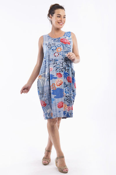 Himeji Bubble Tunic Dress