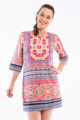 Olympia Print Tunic Top - at I Love Tunics @ www.ilovetunics.com = Number One! Tunics Destination