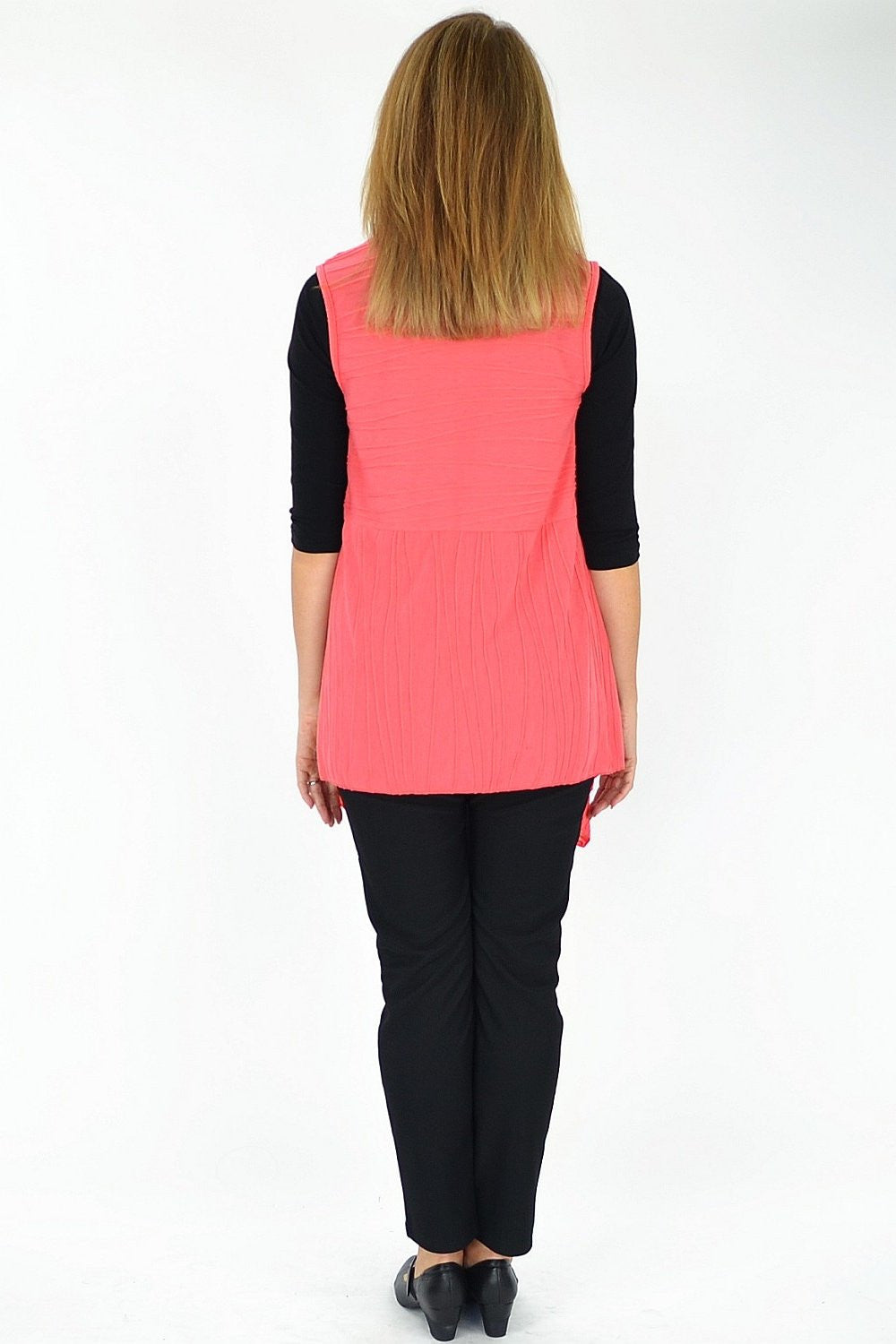 Salmon Nicole Vest | I Love Tunics | Tunic Tops | Tunic | Tunic Dresses  | womens clothing online