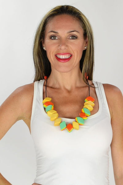 Candy Drops Wooden Necklace | I Love Tunics | Tunic Tops | Tunic | Tunic Dresses  | womens clothing online