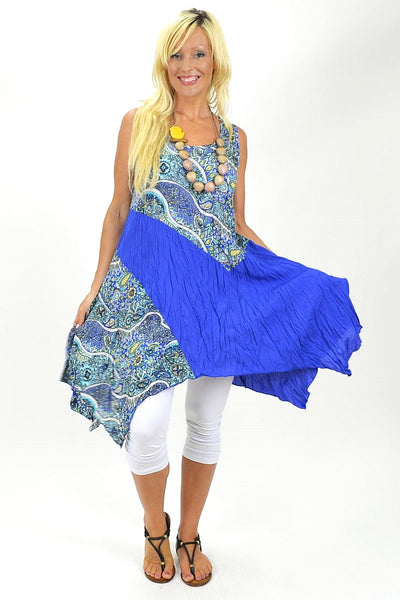 Blue Jodie Tunic | I Love Tunics | Tunic Tops | Tunic | Tunic Dresses  | womens clothing online