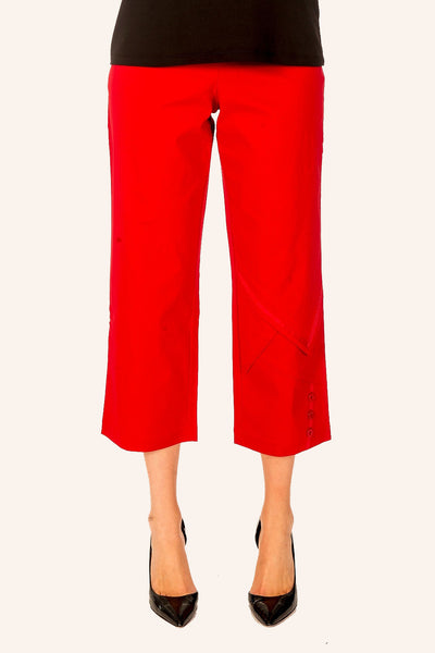Threadz Red 3/4 Pants