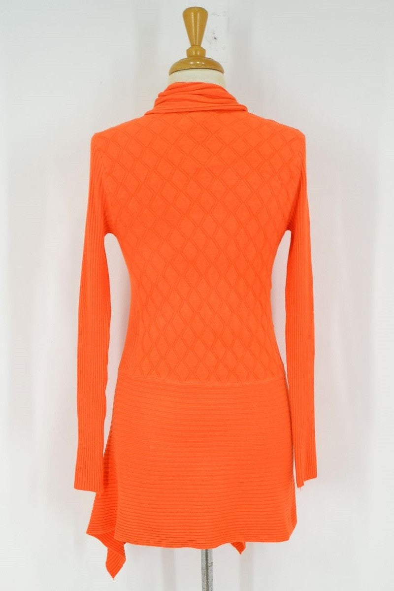 Orange Cardigan - at I Love Tunics @ www.ilovetunics.com = Number One! Tunics Destination