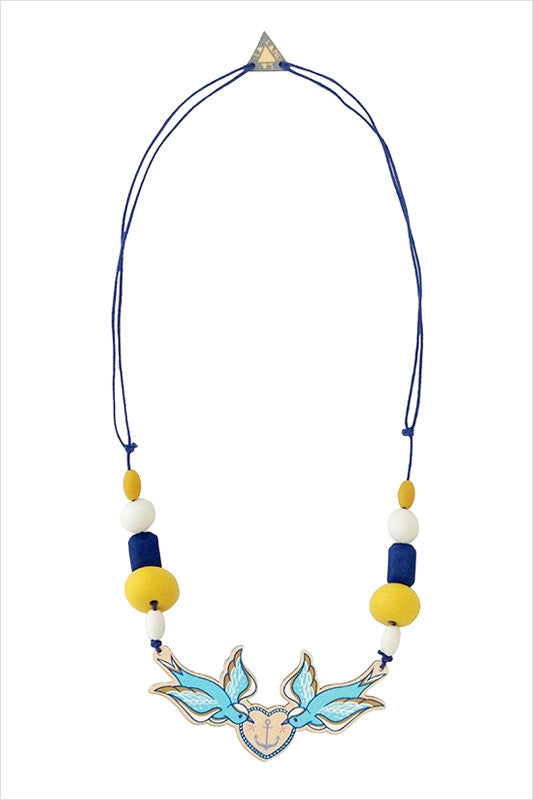 Nautical Necklace - at I Love Tunics @ www.ilovetunics.com = Number One! Tunics Destination