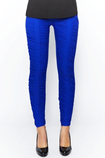 Clarity Cobalt Blue Ruche Pants