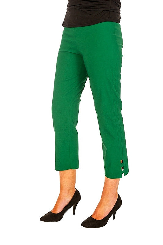 Clarity Green Cut Out Pants | I Love Tunics | Tunic Tops | Tunic | Tunic Dresses  | womens clothing online