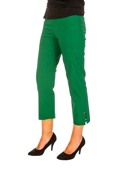 Clarity Green Cut Out Pant - I Love Tunics @ www.ilovetunics.com
