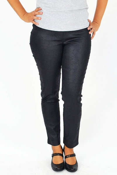 Clarity Leather Look Pants