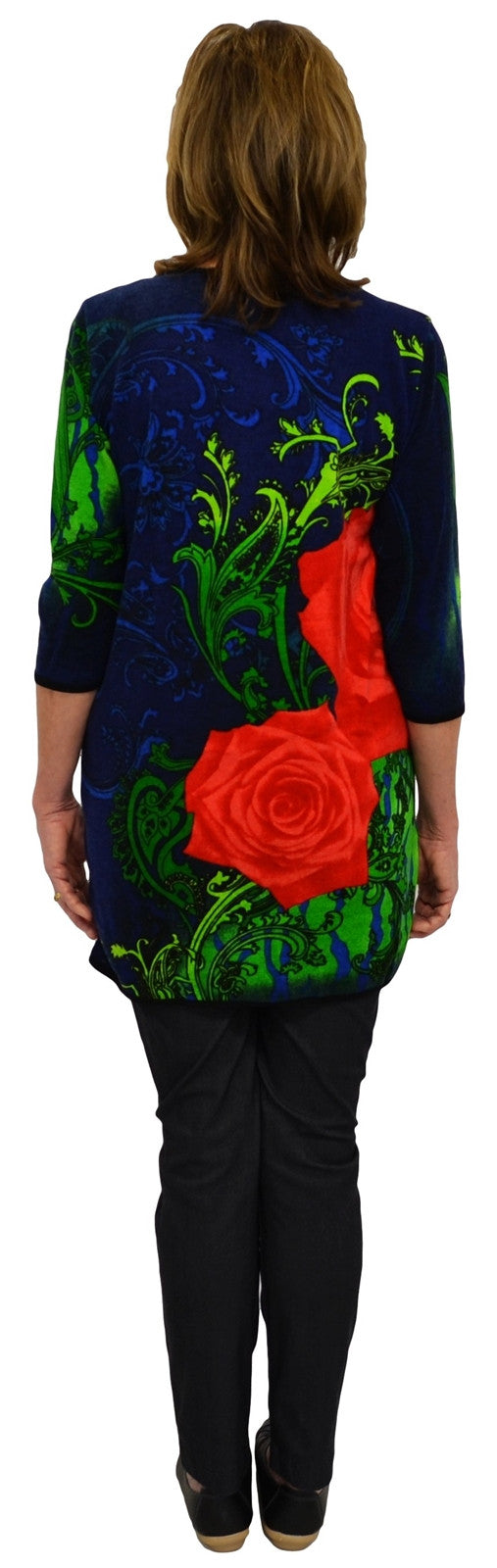Navy Rose Tunic | I Love Tunics | Tunic Tops | Tunic | Tunic Dresses  | womens clothing online