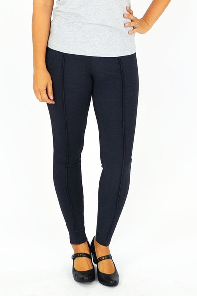 Charcoal Grey Line Leggings - at I Love Tunics @ www.ilovetunics.com = Number One! Tunics Destination