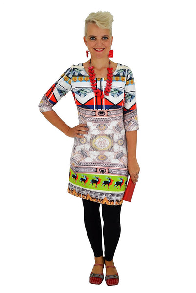 Abstract Deer Tunic
