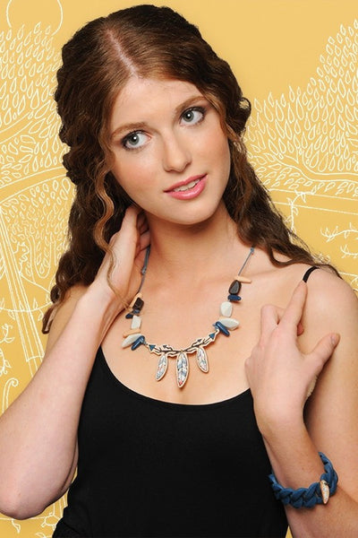 Feathers Necklace - at I Love Tunics @ www.ilovetunics.com = Number One! Tunics Destination