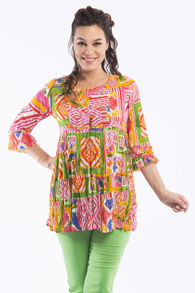 Veneto Tunic Top by Orientique - at I Love Tunics @ www.ilovetunics.com = Number One! Tunics Destination