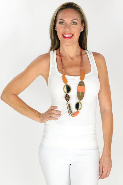 African Princess Long Necklace