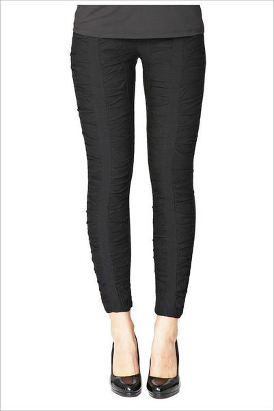 Threadz Black Ruche Pants
