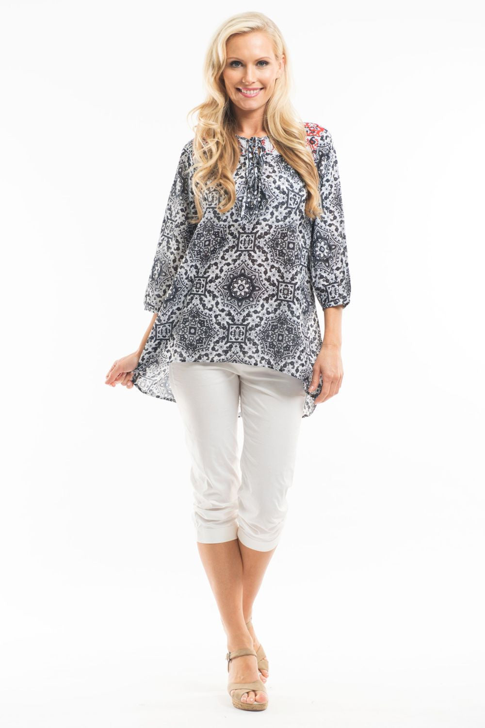 Niesha Tunic - at I Love Tunics @ www.ilovetunics.com = Number One! Tunics Destination