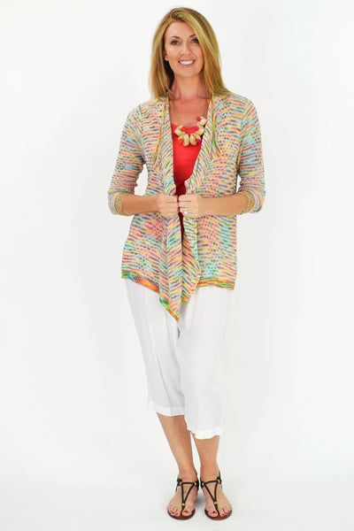 Colourful Willow Cardigan