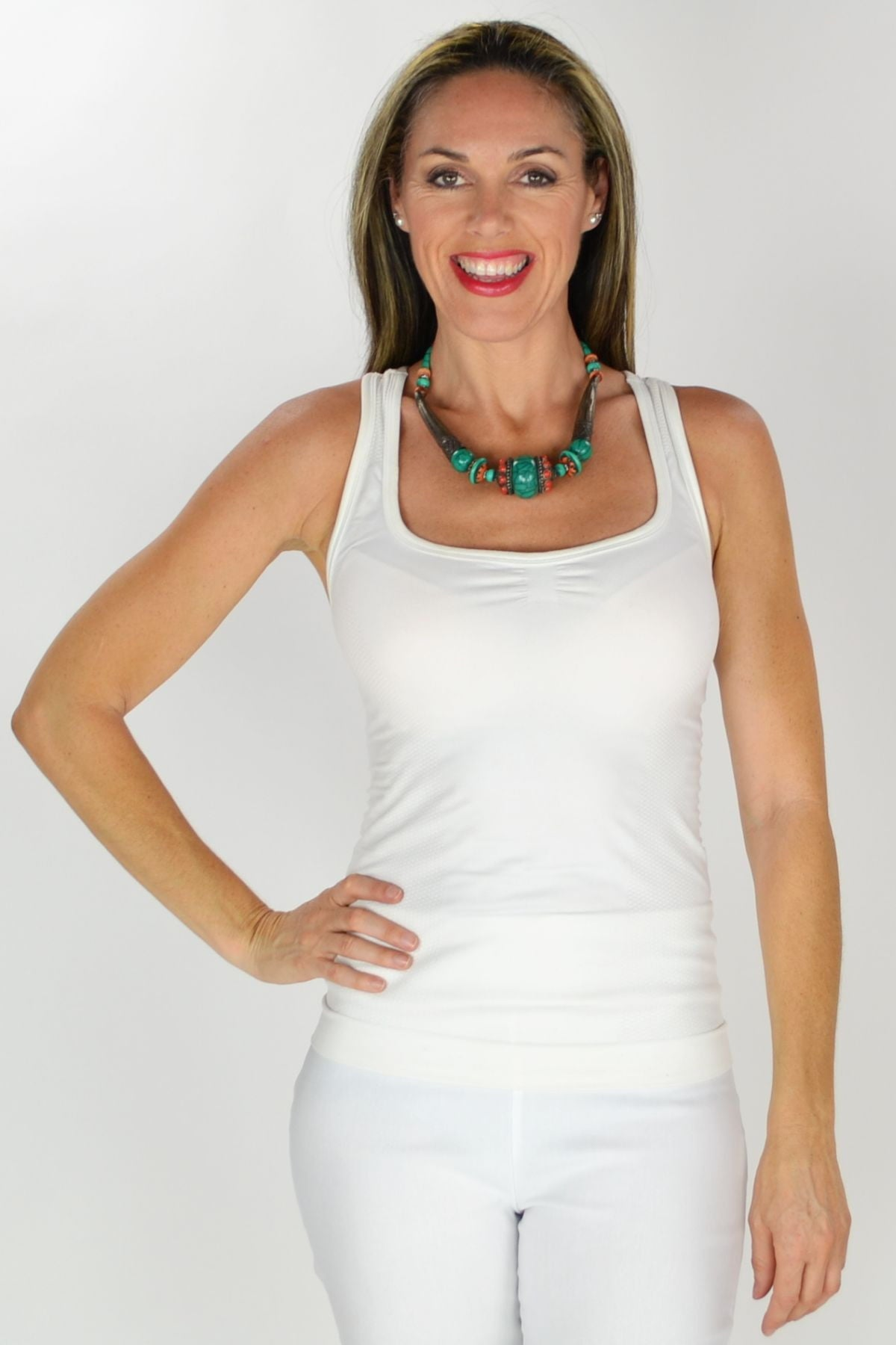 Antique Tibetan Necklace | I Love Tunics | Tunic Tops | Tunic | Tunic Dresses  | womens clothing online
