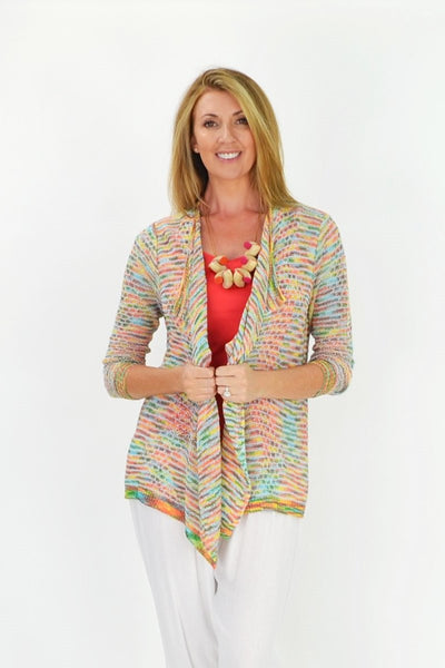 Colourful Willow Cardigan - I Love Tunics @ www.ilovetunics.com