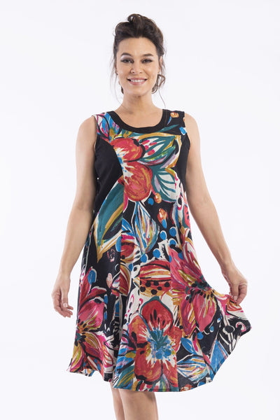 Chelsea Tunic Dress by Orientique - at I Love Tunics @ www.ilovetunics.com = Number One! Tunics Destination