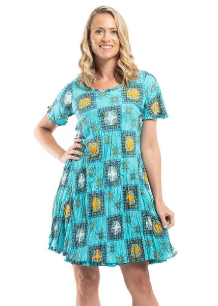 I Love Tunics Orientique oia | 51579 | Reversible cotton dress