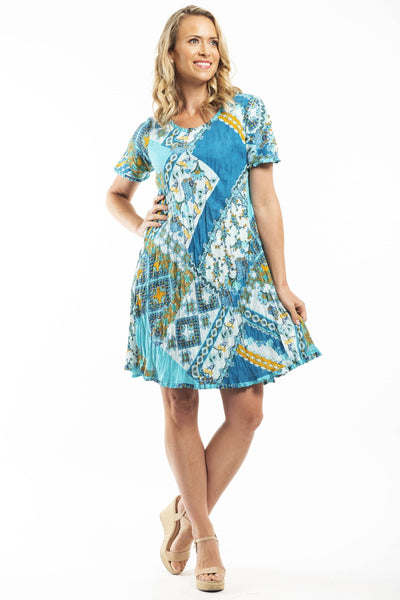 Orientique Oia Reversible Tunic Dress