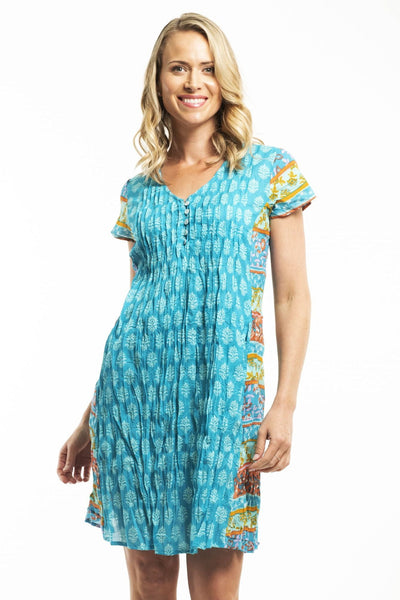 Orientique Fira Cotton Dress | I Love Tunics | Tunic Tops | Tunic | Tunic Dresses  | womens clothing online