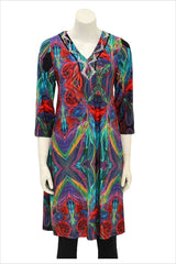Colour World Tunic - at I Love Tunics @ www.ilovetunics.com = Number One! Tunics Destination