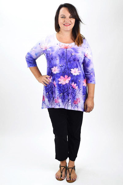 Flowers in May Tunic