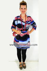 Coloured Zebra | I Love Tunics | Tunic Tops | Tunic Dresses | Women's Tops | Plus Size Australia | Mature Fashion