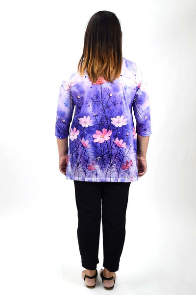 Flowers in May Tunic - at I Love Tunics @ www.ilovetunics.com = Number One! Tunics Destination