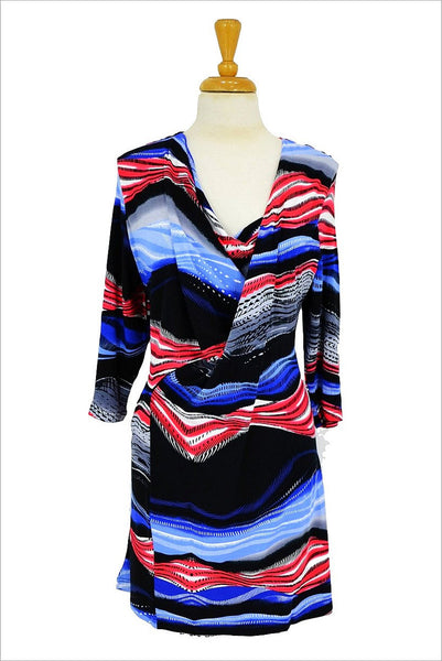 Coloured Zebra - I Love Tunics @ www.ilovetunics.com