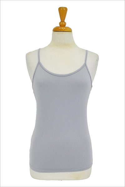Grey Basic Singlet Top